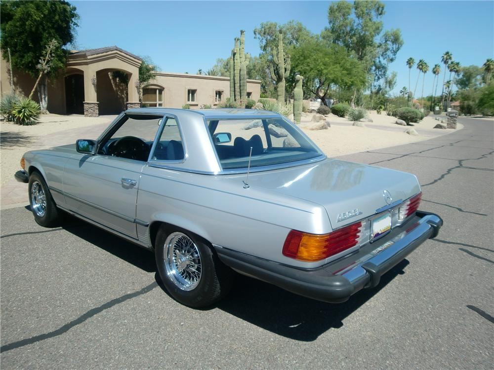 1979 mercedes benz 450sl 2 door convertible 91712 for Mercedes benz 4 door