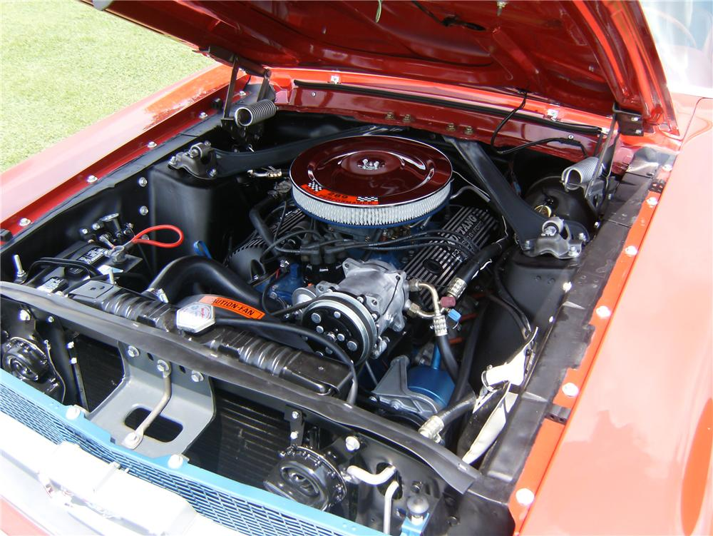 1967 FORD MUSTANG CONVERTIBLE - Engine - 91714