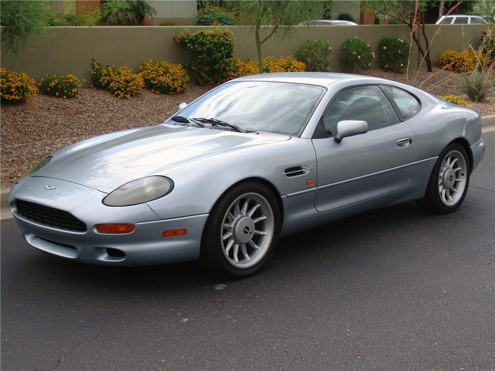 1997 ASTON MARTIN DB 7 COUPE - Front 3/4 - 91736