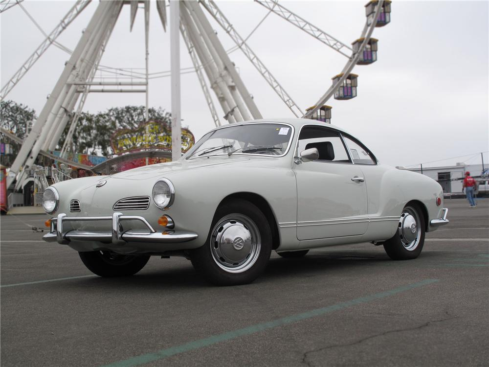 1969 VOLKSWAGEN KARMANN GHIA 2 DOOR COUPE - Front 3/4 - 91742