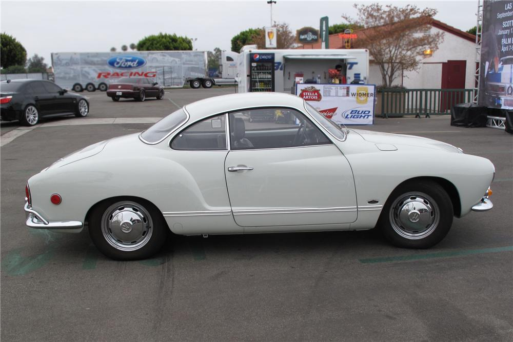 1969 VOLKSWAGEN KARMANN GHIA 2 DOOR COUPE - Side Profile - 91742