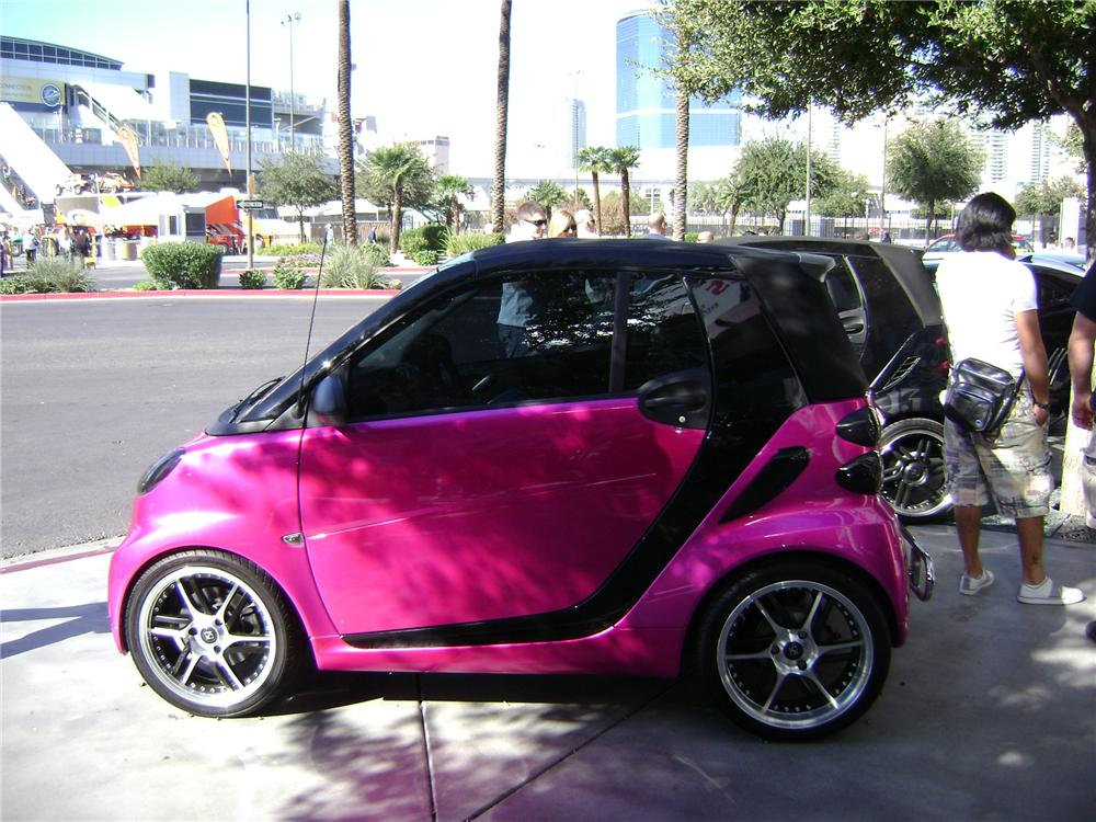 2008 SMART CAR CABRIO FORTWO CUSTOM CONVERTIBLE - Front 3/4 - 92256