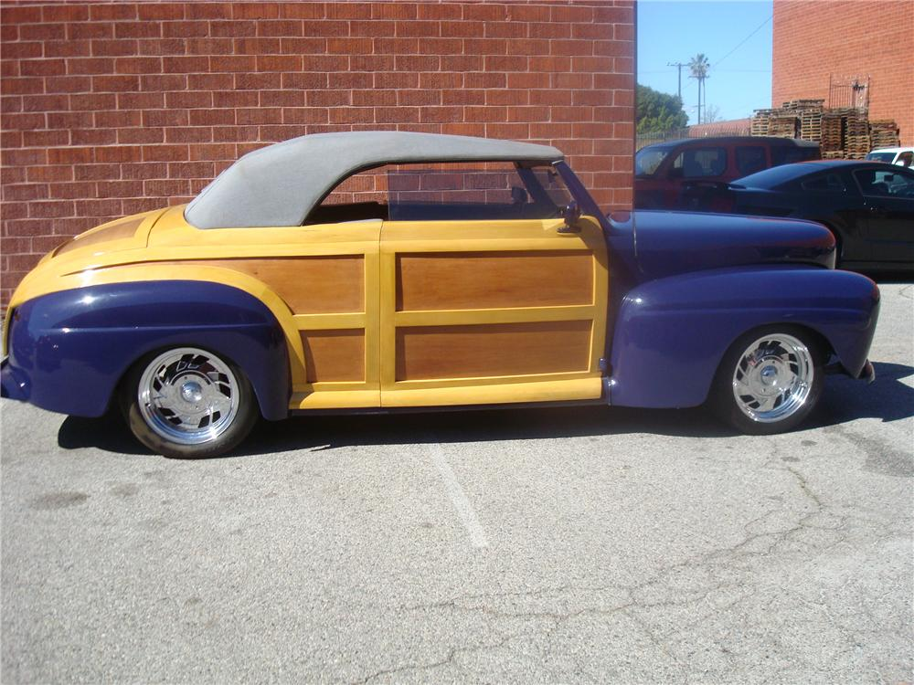 1947 FORD 40 STREET ROD CONVERTIBLE - Side Profile - 92274