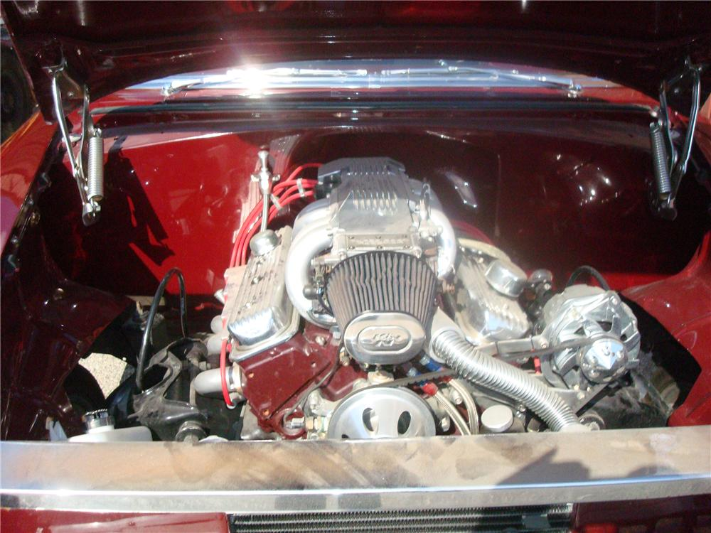 1955 CHEVROLET BEL AIR 2 DOOR CUSTOM COUPE - Engine - 92275