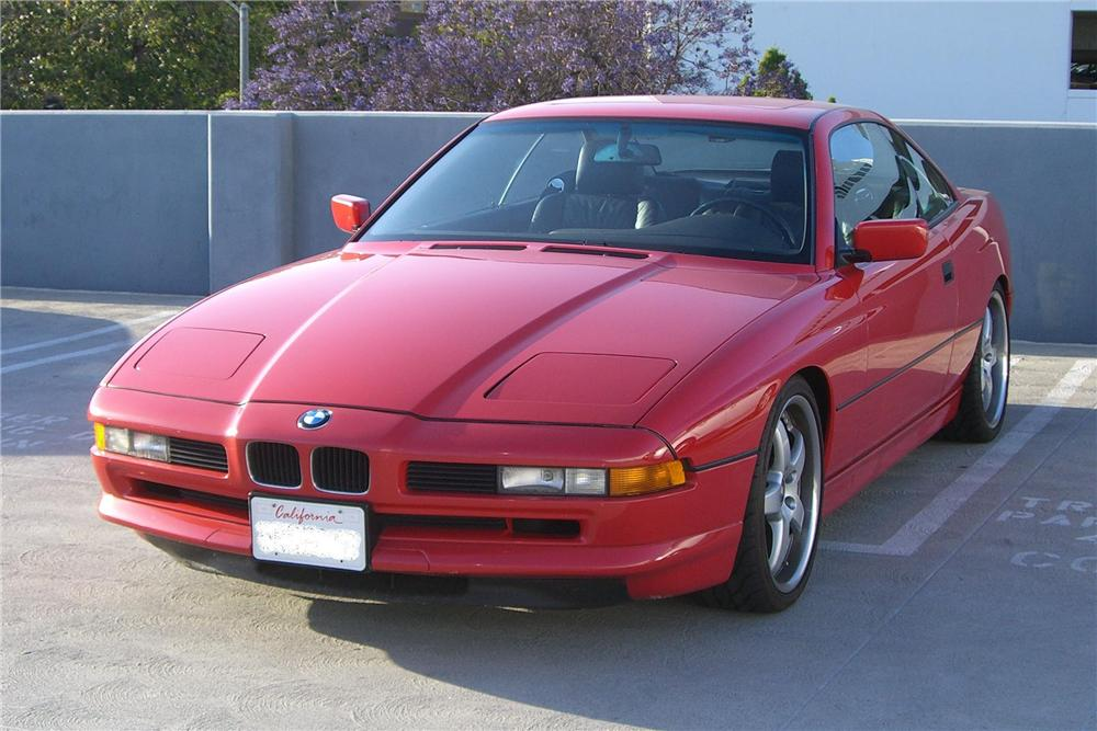 1993 BMW 850CI 2 DOOR COUPE - Front 3/4 - 92313