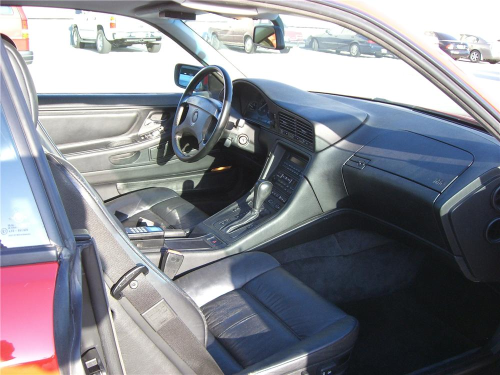 1993 BMW 850CI 2 DOOR COUPE - Interior - 92313
