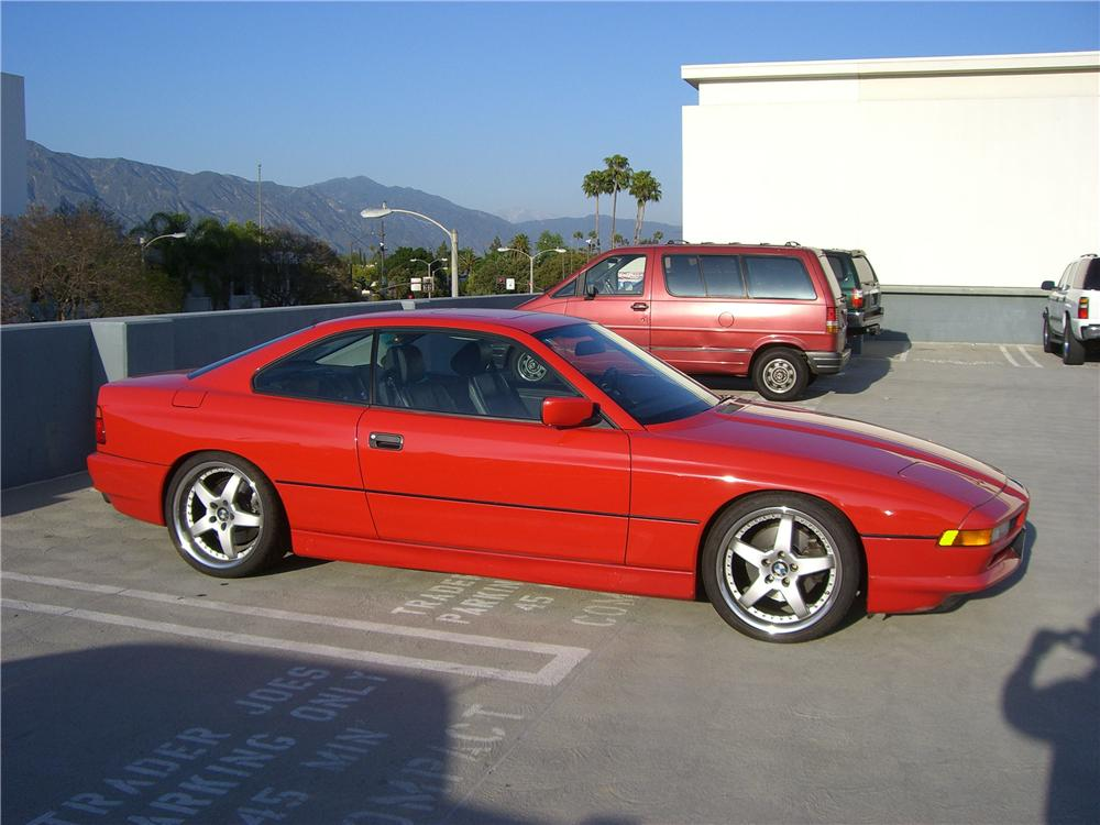 1993 BMW 850CI 2 DOOR COUPE - Side Profile - 92313