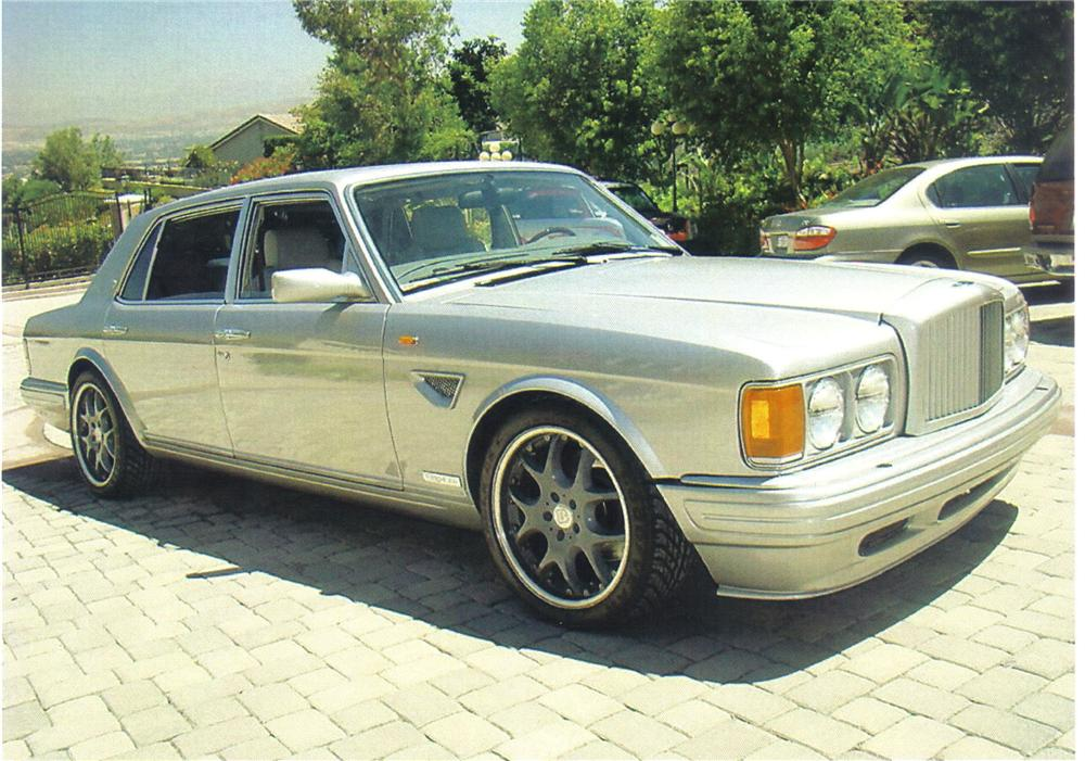 1997 BENTLEY TURBO R 400 SEDAN - Front 3/4 - 92495