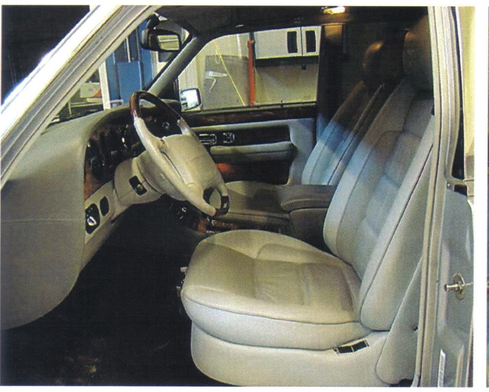 1997 BENTLEY TURBO R 400 SEDAN - Interior - 92495