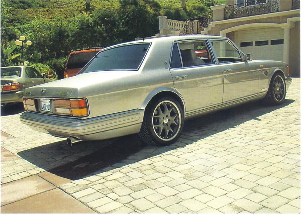 1997 BENTLEY TURBO R 400 SEDAN - Rear 3/4 - 92495