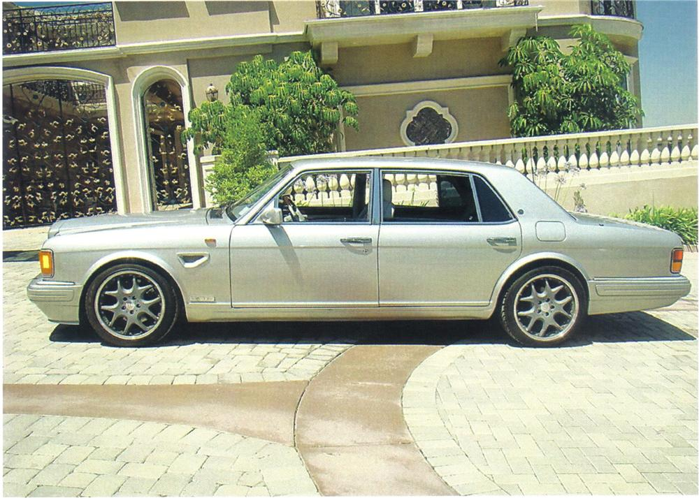 1997 BENTLEY TURBO R 400 SEDAN - Side Profile - 92495