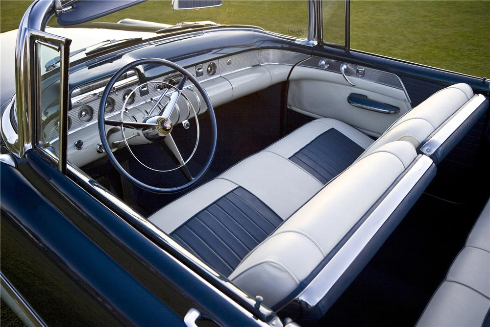1955 BUICK SUPER CONVERTIBLE - Interior - 93185