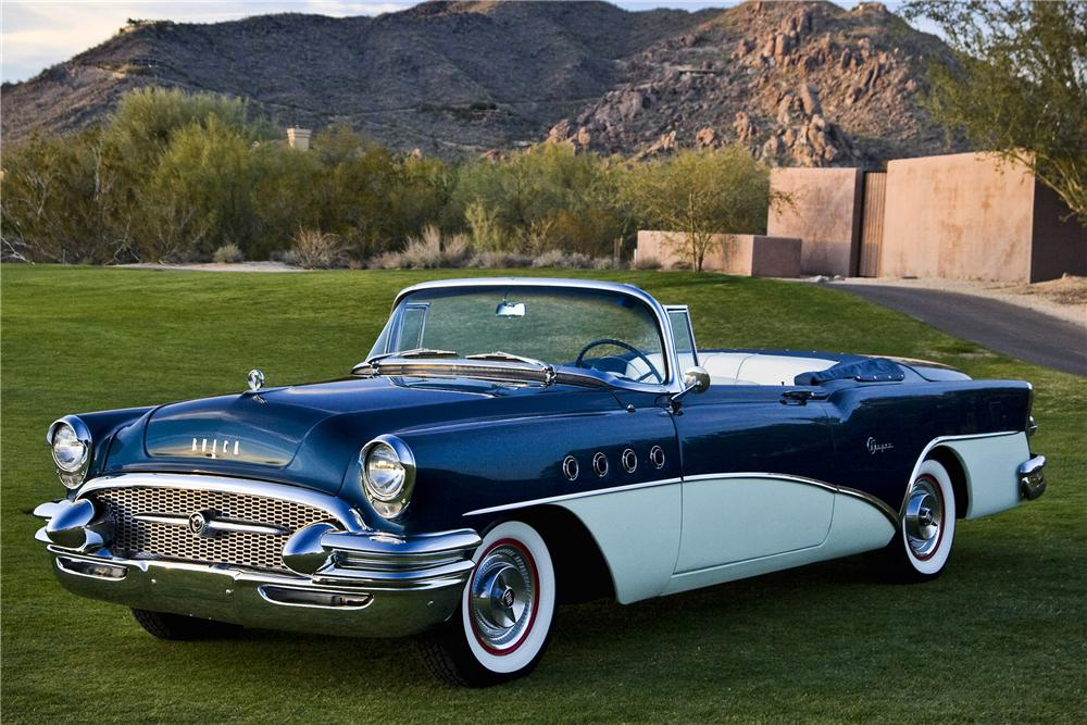 1955 BUICK SUPER CONVERTIBLE - Side Profile - 93185