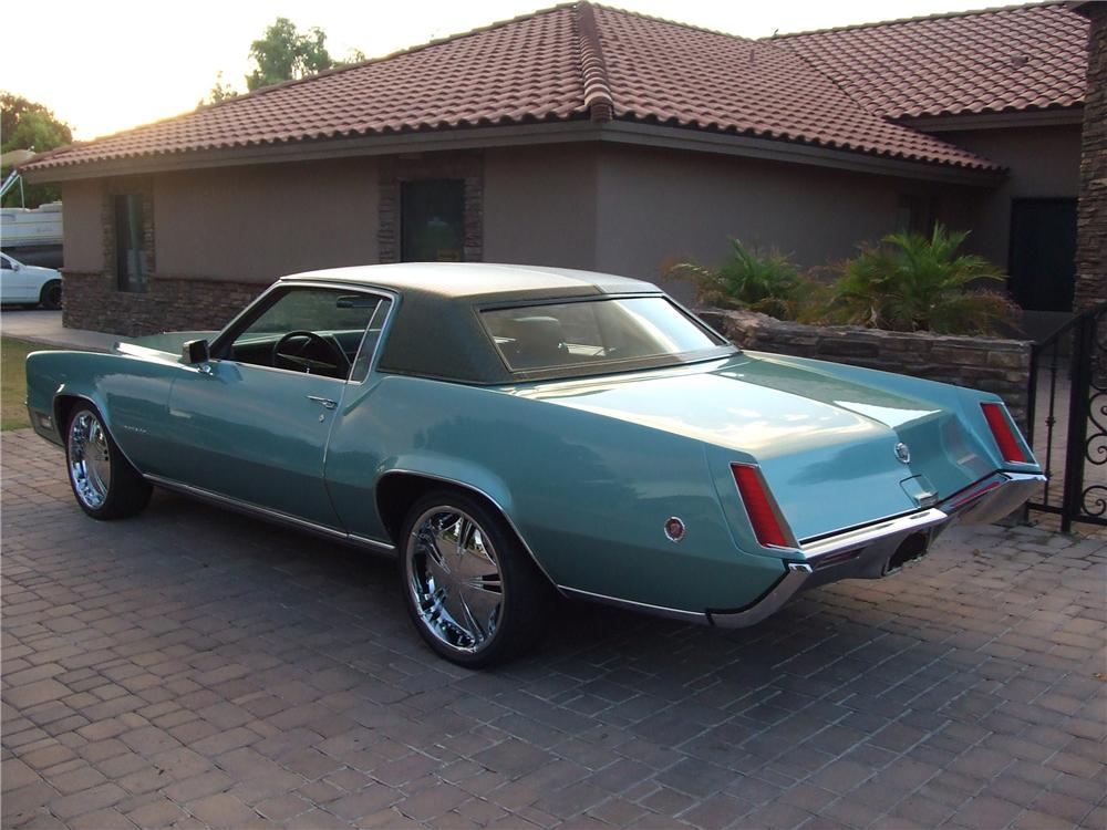 1969 CADILLAC ELDORADO 2 DOOR - Rear 3/4 - 93203