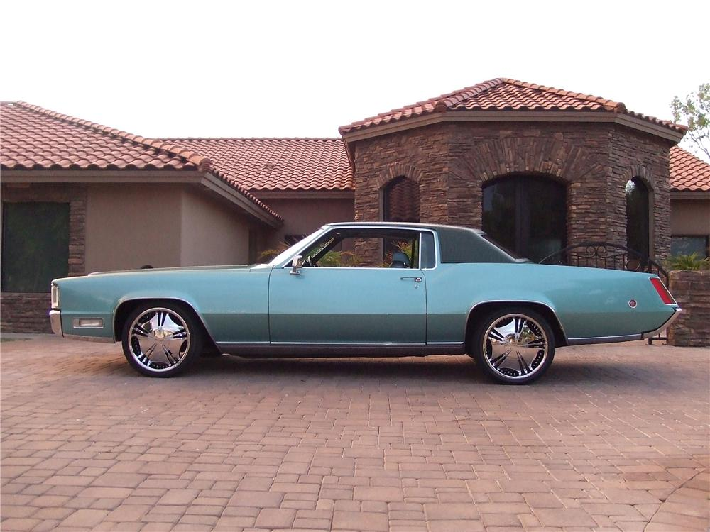1969 CADILLAC ELDORADO 2 DOOR - Side Profile - 93203