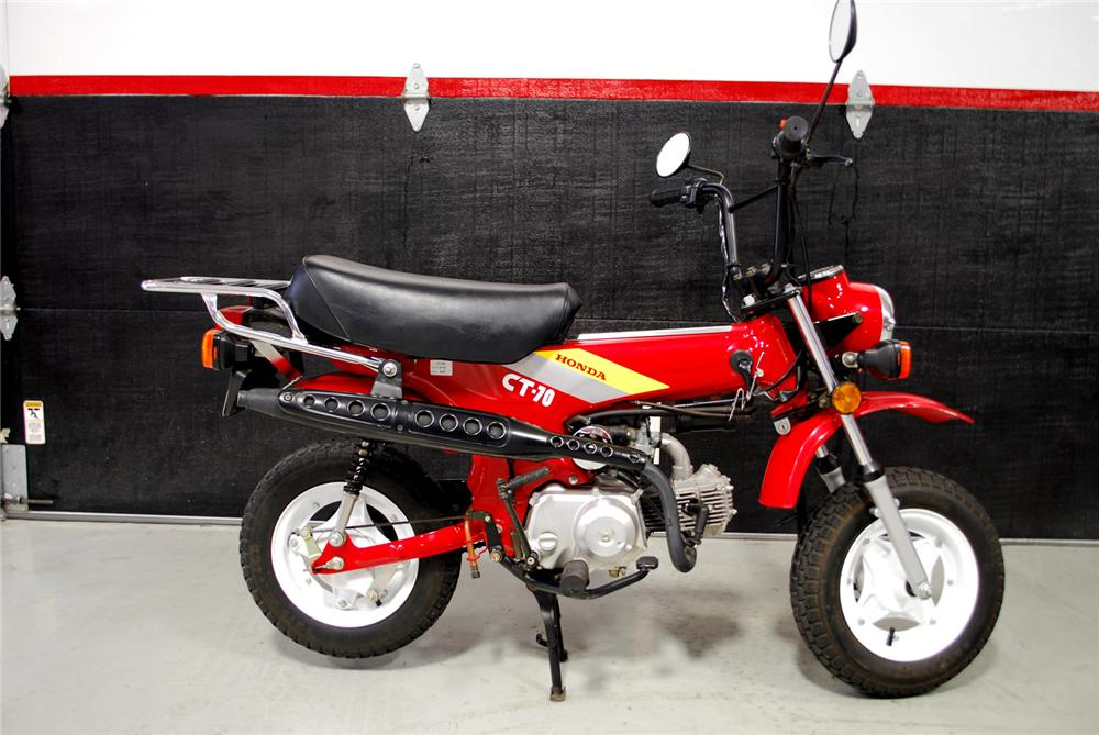 1991 honda ct 70 motorcycle 93211 for Honda in ct