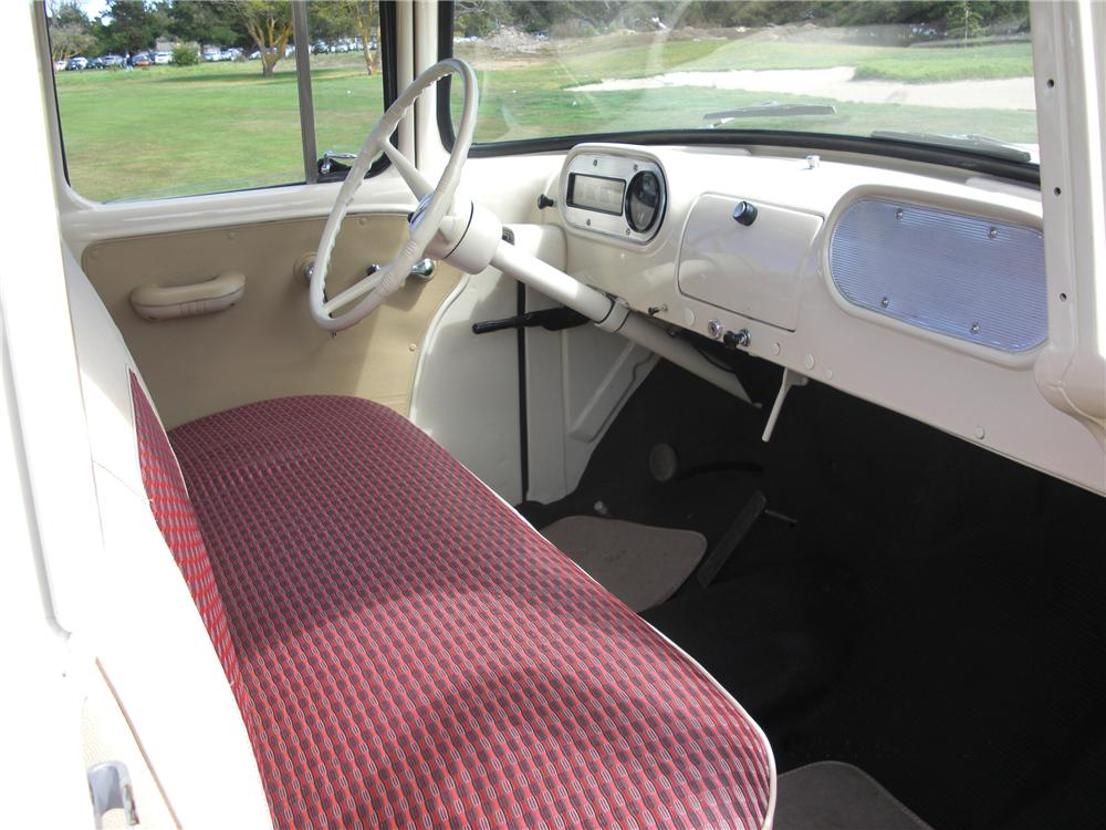 1957 DODGE D-100 SWEPTSIDE PICKUP - Interior - 93214
