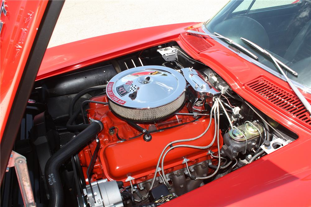 1967 CHEVROLET CORVETTE COUPE - Engine - 93221