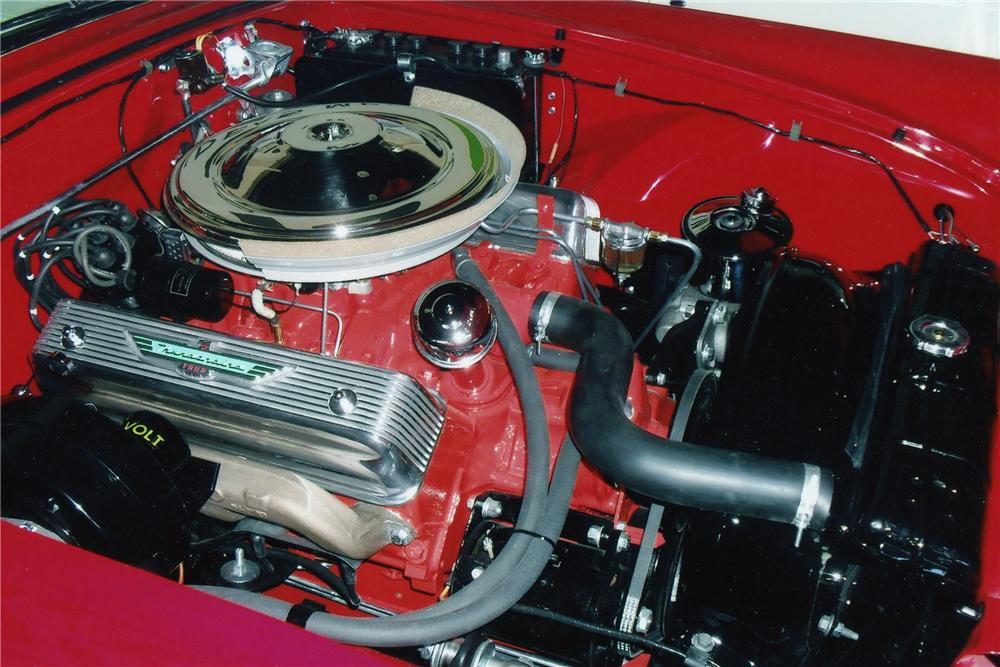 1957 FORD THUNDERBIRD CONVERTIBLE - Engine - 93222