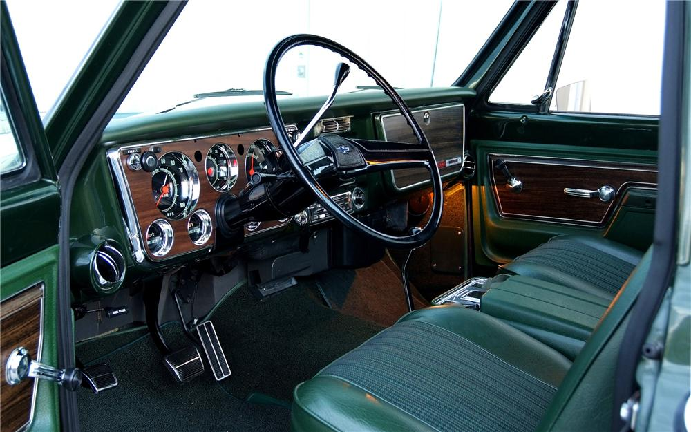 Interior Web on 1967 Chevy C10 Truck