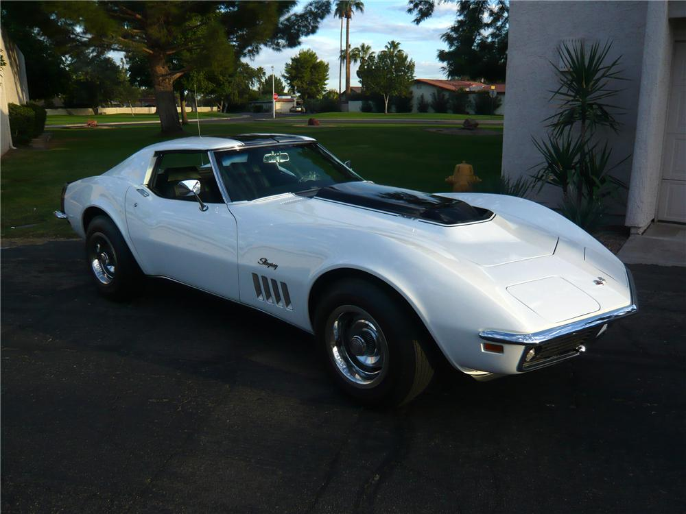 1969 CHEVROLET CORVETTE COUPE ZL1 RE-CREATION - Front 3/4 - 93229