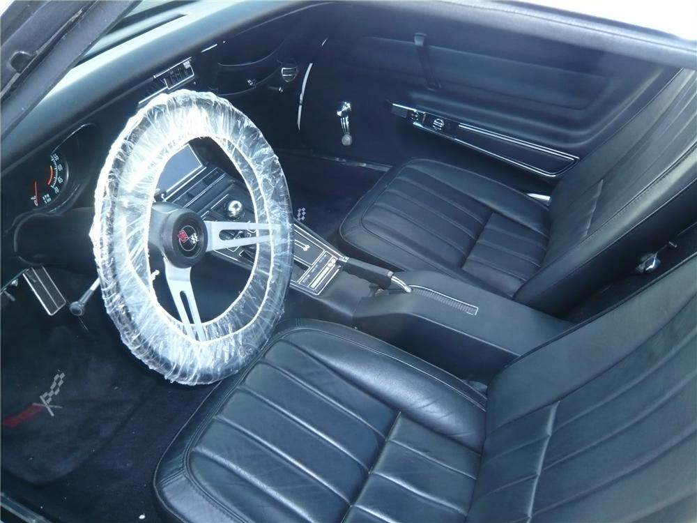 1969 CHEVROLET CORVETTE COUPE ZL1 RE-CREATION - Interior - 93229