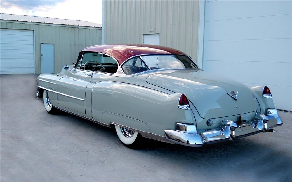 1950 CADILLAC SERIES 62 2 DOOR HARDTOP - Rear 3/4 - 93230