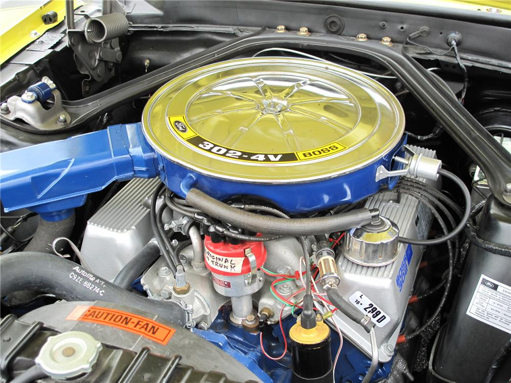 1970 FORD MUSTANG BOSS 302 FASTBACK - Engine - 93231