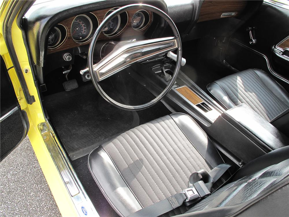 1970 FORD MUSTANG BOSS 302 FASTBACK - Interior - 93231