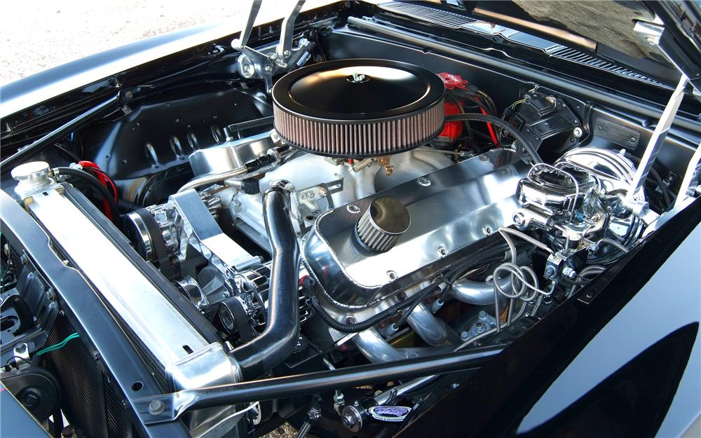 1969 CHEVROLET CAMARO CUSTOM COUPE - Engine - 93234