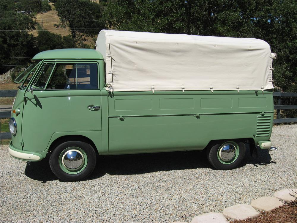 1956 VOLKSWAGEN PICKUP  - Side Profile - 93235