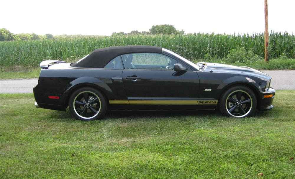 2007 FORD SHELBY GT-H CONVERTIBLE - Front 3/4 - 93236