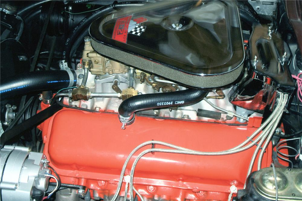 1967 CHEVROLET CORVETTE COUPE - Engine - 93240