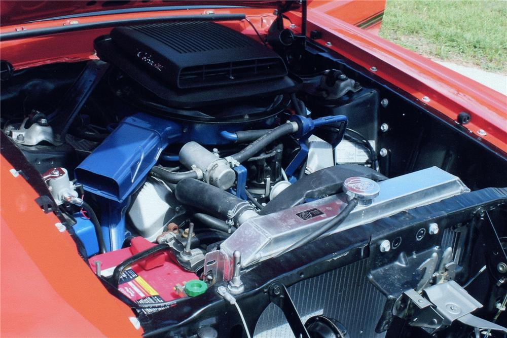 "1969 FORD MUSTANG 428 CJ ""R"" FASTBACK - Engine - 93247"