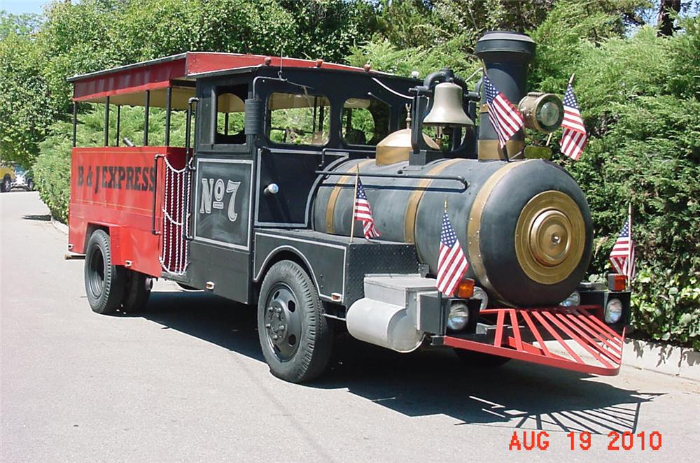 0 SPECIAL CONSTRUCTION ROAD RUNNING TRAIN - Front 3/4 - 93249