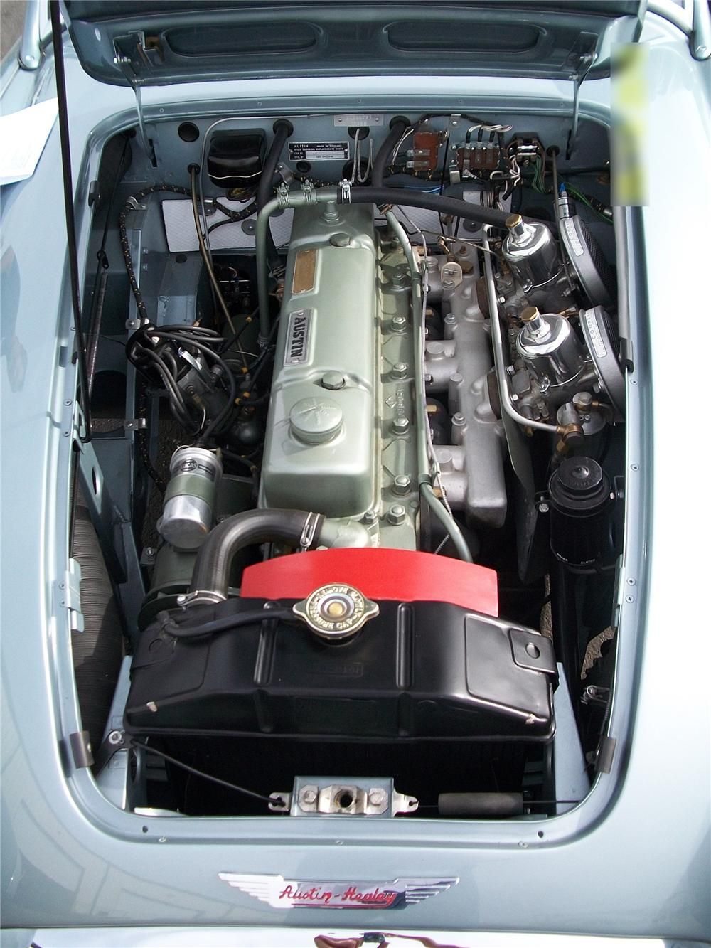 1961 AUSTIN-HEALEY 3000 BT7 ROADSTER - Engine - 93255