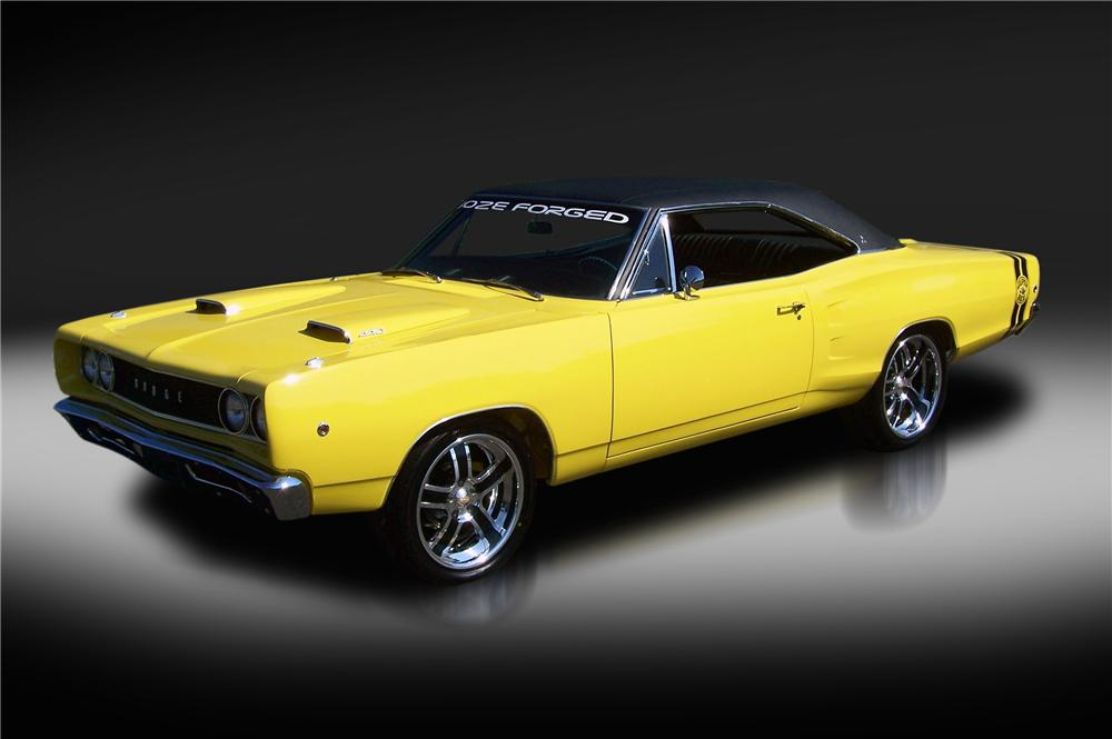 1968 DODGE CORONET SUPERBEE RE-CREATION - Front 3/4 - 93265