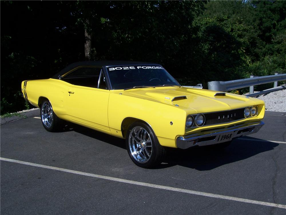 1968 DODGE CORONET SUPERBEE RE-CREATION - Side Profile - 93265