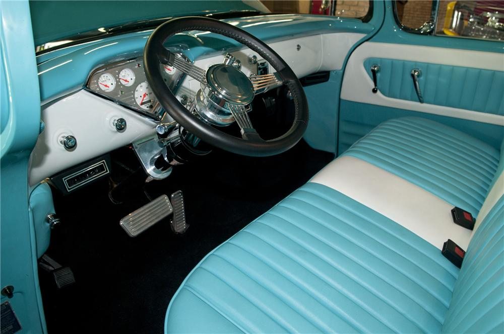 1955 CHEVROLET CAMEO CUSTOM PICKUP - Interior - 93271
