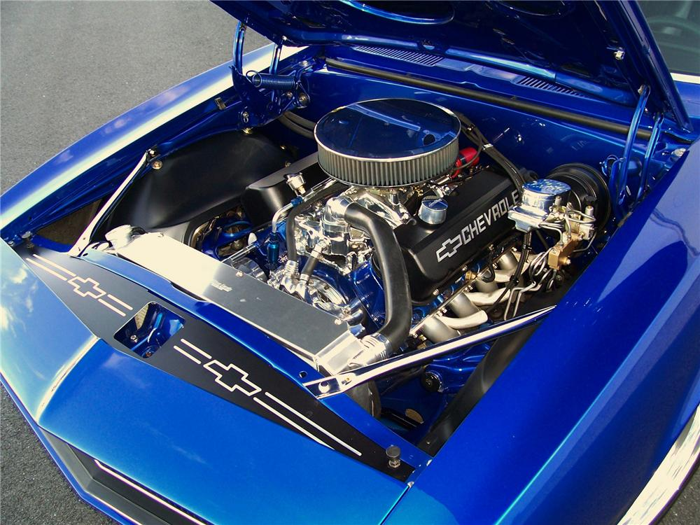1967 CHEVROLET CAMARO CUSTOM 2 DOOR COUPE - Engine - 93275
