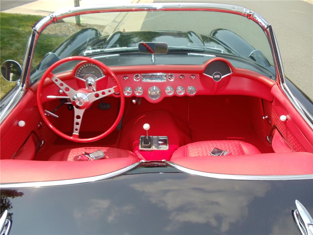 1957 CHEVROLET CORVETTE CONVERTIBLE - Interior - 93285
