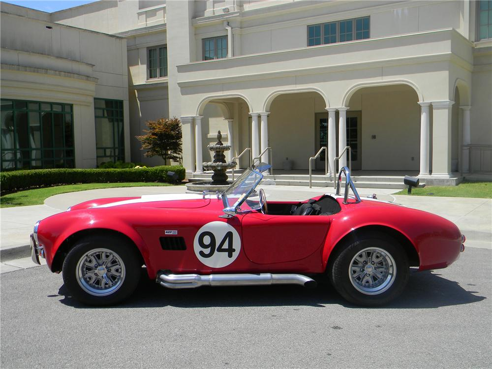 1967 COBRA ROADSTER RE-CREATION - Side Profile - 93286