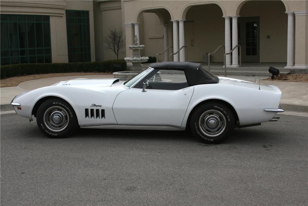 1969 CHEVROLET CORVETTE CONVERTIBLE L-88 RE-CREATION - Side Profile - 93291