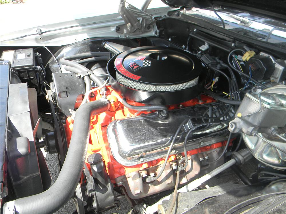 1970 CHEVROLET CHEVELLE SS 2 DOOR COUPE - Engine - 93292