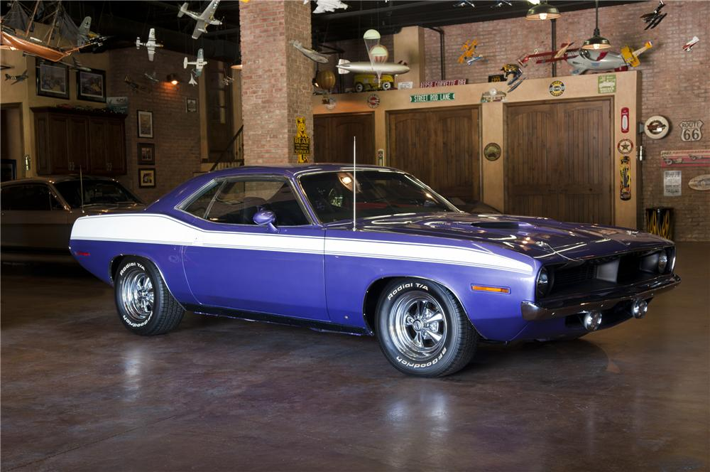 1970 PLYMOUTH CUDA RE-CREATION 2 DOOR COUPE - Front 3/4 - 93293