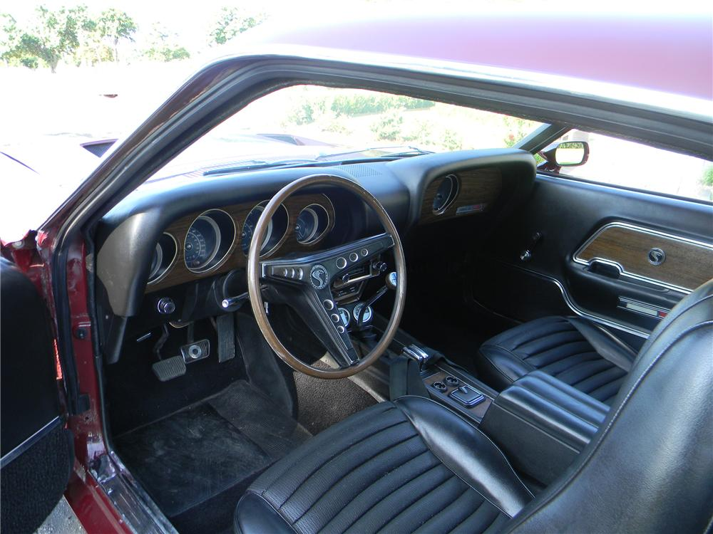 1969 FORD SHELBY GT500 2 DOOR COUPE - Interior - 93296