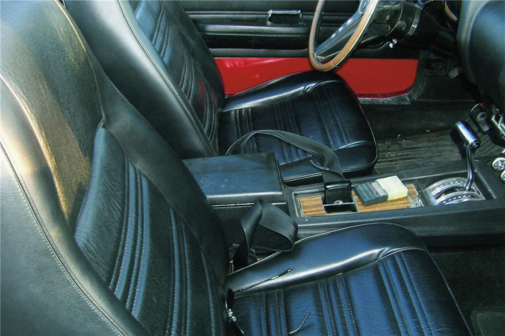 1969 FORD MUSTANG CUSTOM CONVERTIBLE - Interior - 93311