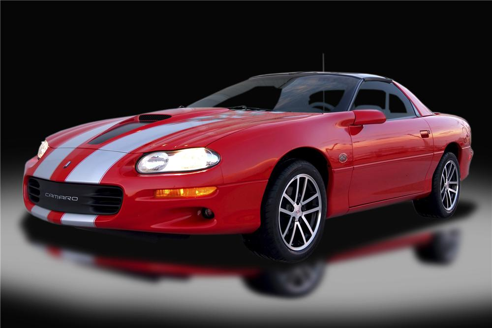 2002 CHEVROLET CAMARO SS COUPE - Front 3/4 - 93324