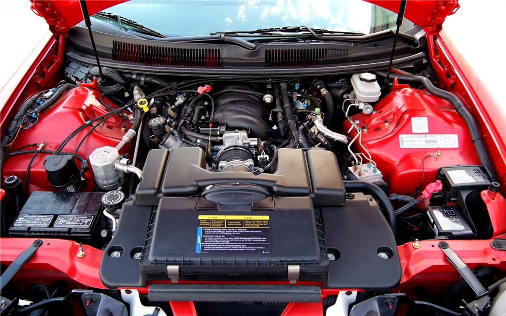2002 CHEVROLET CAMARO SS CONVERTIBLE - Engine - 93325