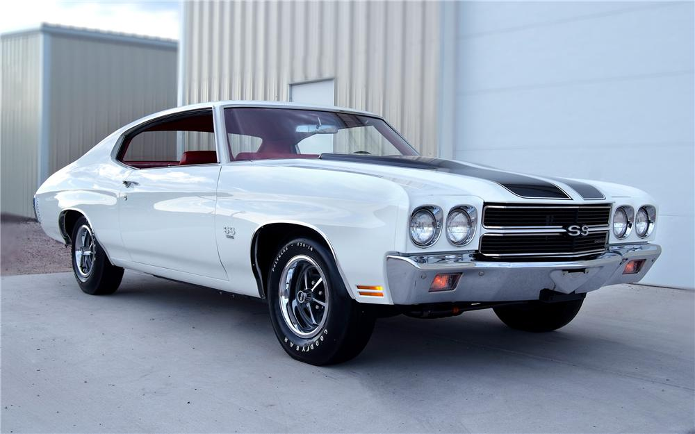 1970 CHEVROLET CHEVELLE SS 396 COUPE - Front 3/4 - 93328